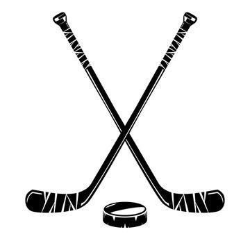 Isolated hockey stick