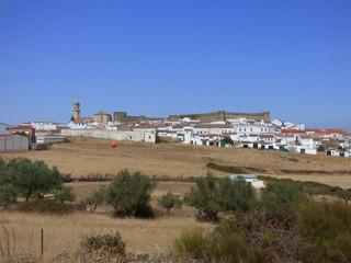 Cumbres Mayores, pueblo de Huelva (Andalucia,España)