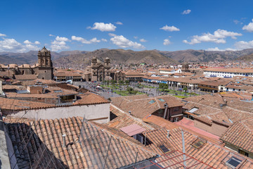 The Historic City of Cusco, Peru is the hub for visits to Machu Picchu