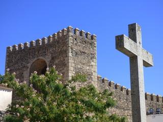 Cumbres Mayores, pueblo de Huelva, Andalucia