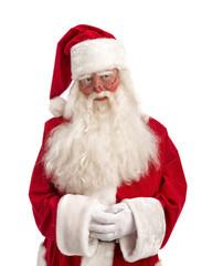 Portrait of Cute Santa Claus - Full Length