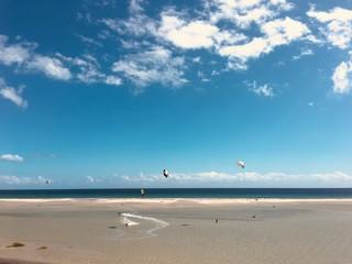 Sotavento beach in Fuerteventura, Spain