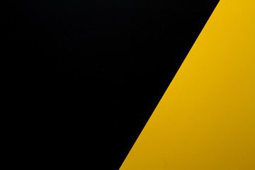 yellow and black paper