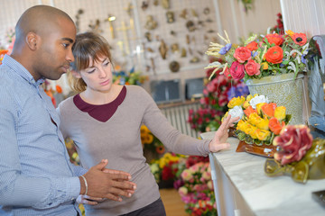 buying flowers for a dead relative
