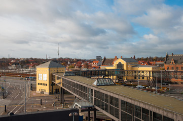 Helsingoer ferry terminal