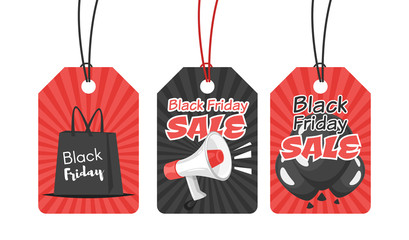 black Friday tags