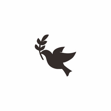 Dove Peace Logo Icon