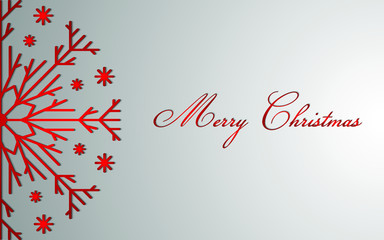 Merry Christmas. Holiday greeting card. Vector illustration.