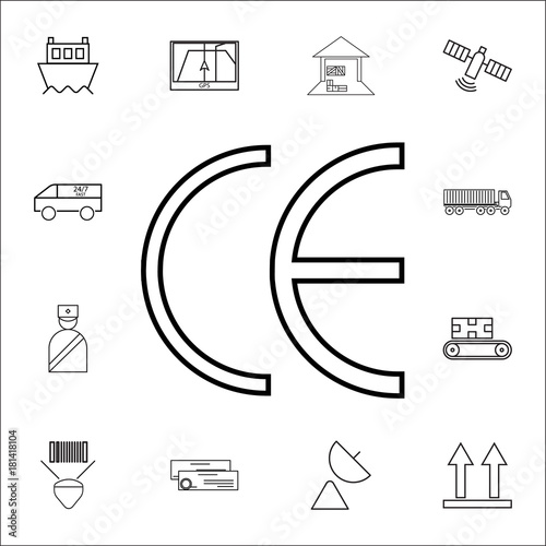 symbol ce mark icon logistics icons universal set for web and Lion Symbol symbol ce mark icon logistics icons universal set for web and mobile stock image and royalty free vector files on fotolia pic 224440313