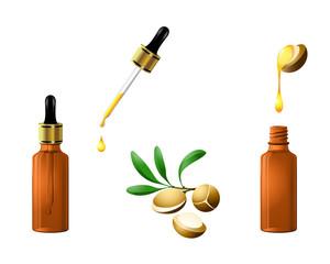 argan oil cosmetic