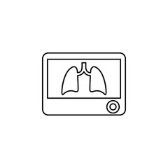 Lungs X-Ray icon
