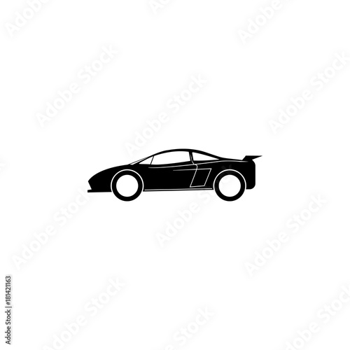 Sports Car Icon Car Type Simple Icon Transport Element Icon