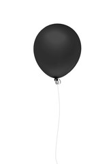 Black balloon only one