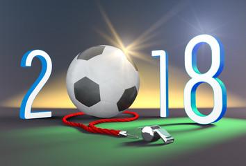 Coupe du monde de football 2018 et bonne année