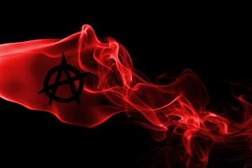 Anarchy smoke flag