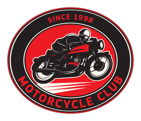 Motorcycle Club label