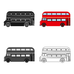 Passenger Bus single icon in cartoon,outline,black style for design.Car maintenance station vector symbol stock illustration web.