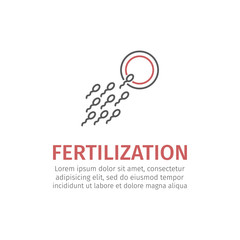 Fertilization Icon Vector.