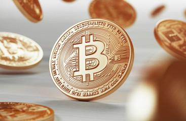 Bitcoin, criptomoneta, on line, web