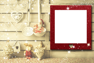 Christmas picture frames cards