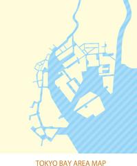 Tokyo bay area map