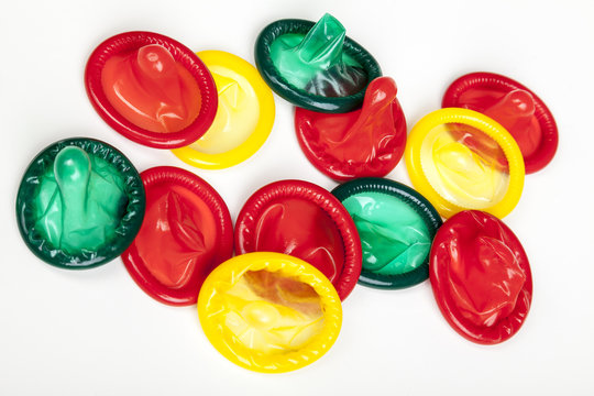 bunte mischung kondome