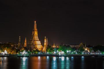 Poster Las Vegas Wat Arun : 暁の寺・ワットアルン・チャオプラヤー川