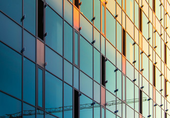 office building windows detail