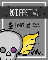 rock festival event music concert