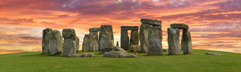 Printed roller blinds Historical buildings Stonehenge