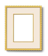 gold frame vintage