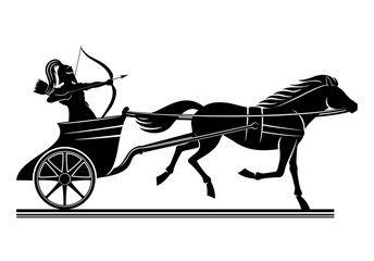 War chariot sign.