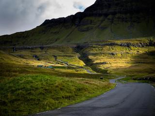 Färöer - Landschaft