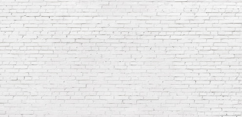 whitewashed brick wall, light brickwork background for design. White masonry