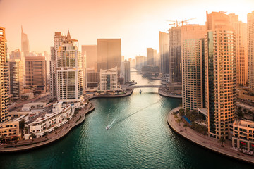 Acrylic Prints Middle East Dubai Marina