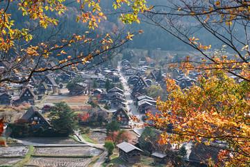 Shirakawa-go in Autumn
