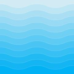 Blue wavy background for design. Vector Illustration EPS10
