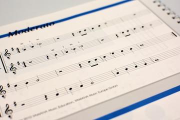 Music score Moderato