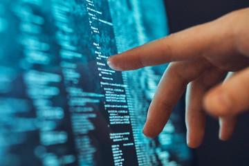 Hacker, programming, system code, software, programming language
