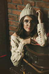 hipster teen girl