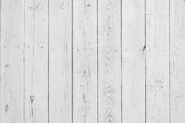 Grey White Wood texture background. Vertical wood planks