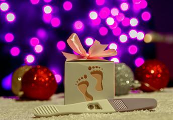christmas pregnancy announcement