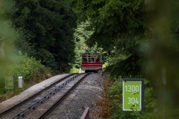 Unterwegs mit der Oberweissbacher Bergbahn