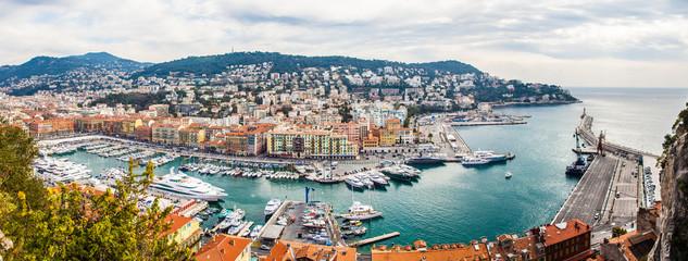 Nizza Hafen wundervoll
