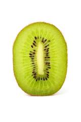 Kiwi isolated closeup.