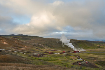 Hverir geothermal area, Nordurland eystra, Norther iceland, iceland