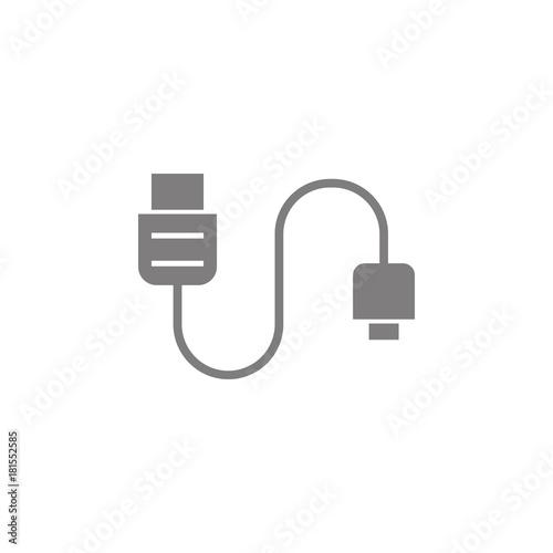 Phone Tablet Cable Icon Web Element Premium Quality Graphic Design