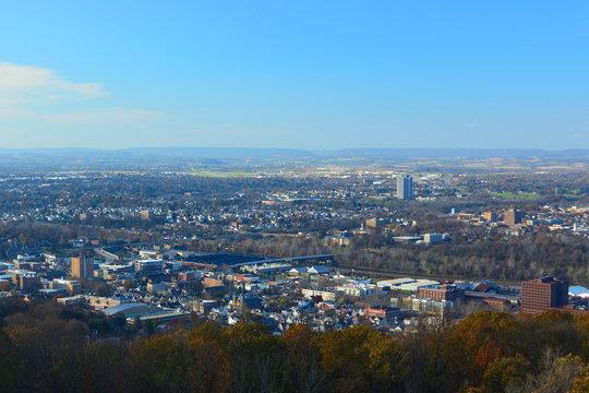 Bethlehem, Pennsylvania on a Sunny Day