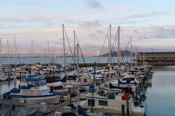 Botes en la Bahia de San Francisco