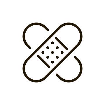 Plaster flat icon
